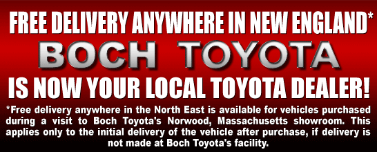 BOCH TOYOTA FREE DELIVERY ANYWHERE IN NEW ENGLAND